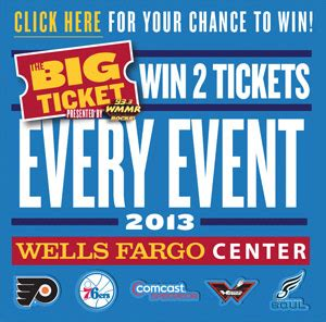 Big Sweepstakes To Enter - enter quot the big ticket quot sweepstakes to win two tickets to every single event at the