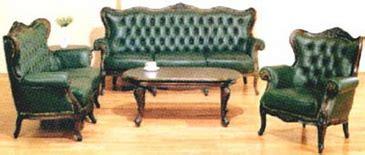 Sofa Kerang jepara furniture living room set