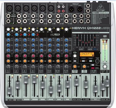 Sale Mixer Behringer Xenyx Qx 1222 Usb 12 Channel mesa behringer xenyx qx1222 usb qx 1222 melhor que x1222