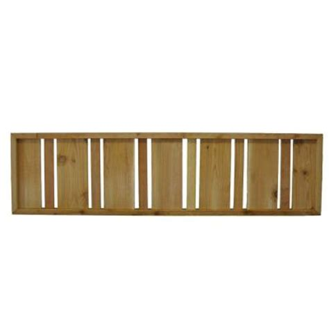 wood fence panels semi solid pattern 45 75 in x