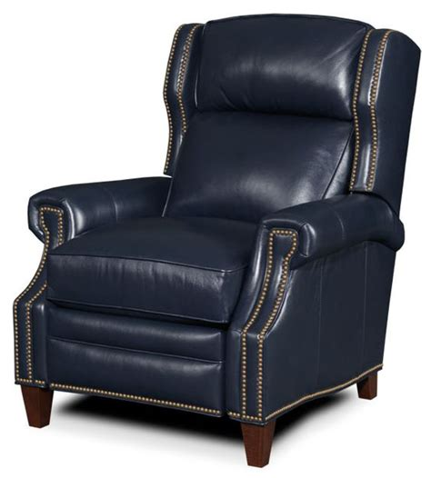 navy leather recliner leather navy blue and leather recliner on pinterest