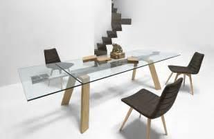 ausziehbare tische ausziehbarer tisch mit tischplatte aus glas idfdesign