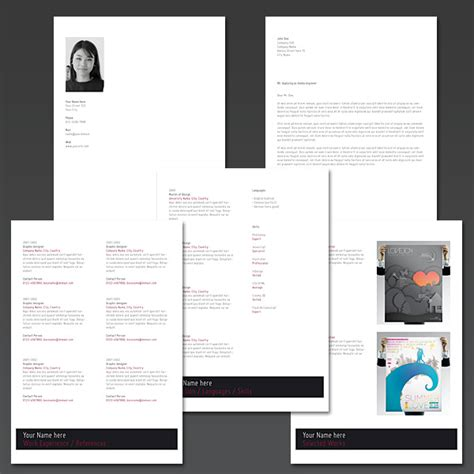 creating resume indesign creating an looking resume with indesign