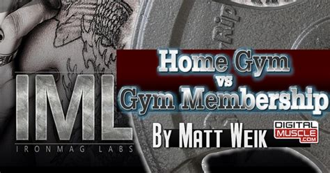membership vs home digitalmuscle