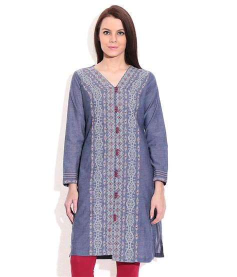 globus white cotton knitted v neck kurti buy globus white cotton knitted v neck kurti rangriti blue cotton v neck kurti price in india buy
