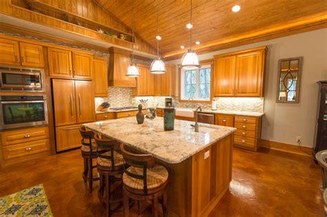 rustic open floor house plans rustic open kitchen floor open floor plan rustic kitchen birmingham by aiken