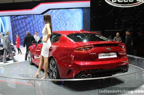 Kia Motor Show Kia Stinger 2017 Geneva Motor Show Live