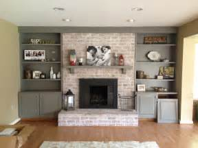 how to paint a brick fireplace fireplace brick paint