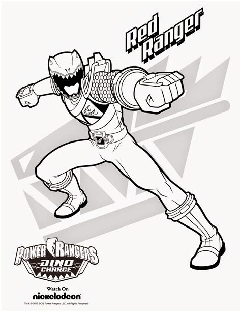 Coloring Pages Of Power Rangers Dino Charge | free coloring pages of power rangers dino charge