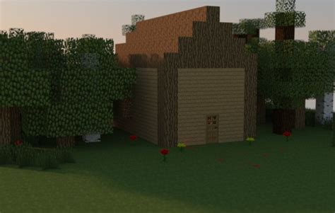 the shed from shed mov minecraft project