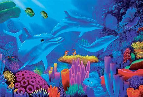 colorful ocean wallpaper underwater wallpaper