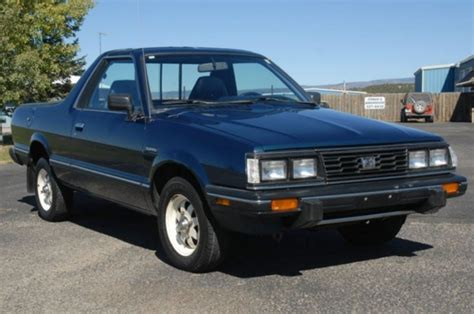 1993 subaru brat for sale 58k mile 1986 subaru brat bring a trailer