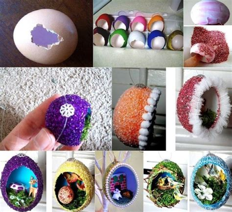 arts n crafts ideas diy easter home craft creative egg shell carvings find