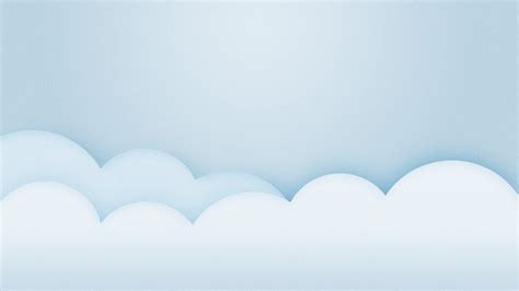 Wallpaper Minimalist by 1920x1080 Light Blue Minimalistic Clouds Desktop Pc And