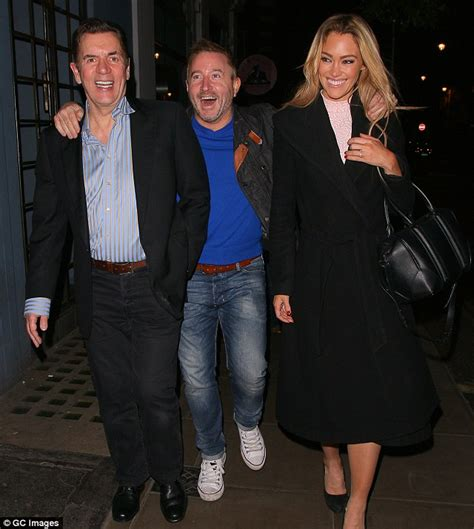 Duncan Bannatyne enjoys night out on the town with friends