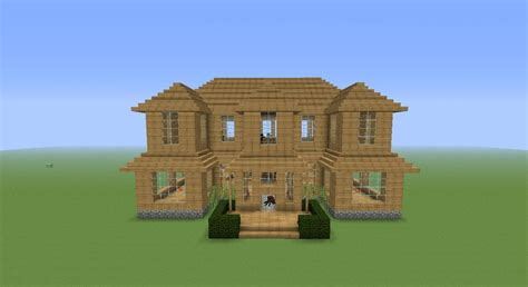 easy build homes a simple easy to build mansion minecraft project