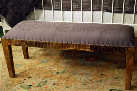 how to upholster bench seat diy upholstered bench cityline ca