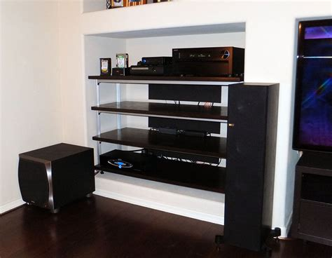 hey look i made some shelves home theater forum and