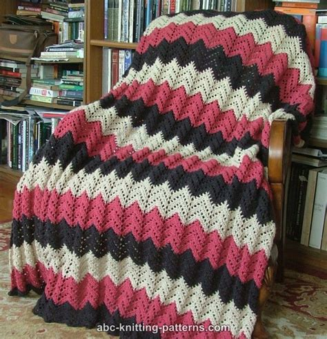 free pattern ripple afghan abc knitting patterns lace ripple afghan
