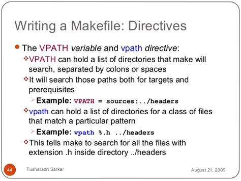 pattern matching makefile introduction to makefile