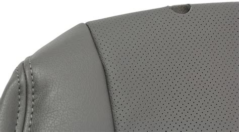 fit seat covers clazzio car seat cover leather grey custom fit for 2014