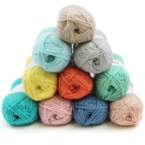 knitting wool packs knit purl baby yarn 50g 10 pack hobbycraft
