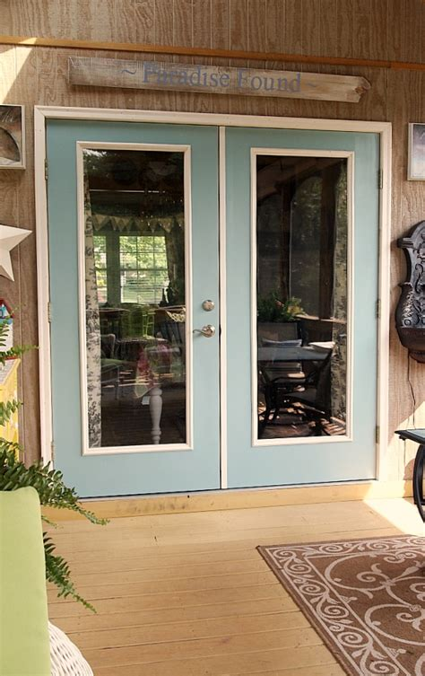 Patio Door Installation Diy by Before And After Patio Door Makeover A Cultivated Nest