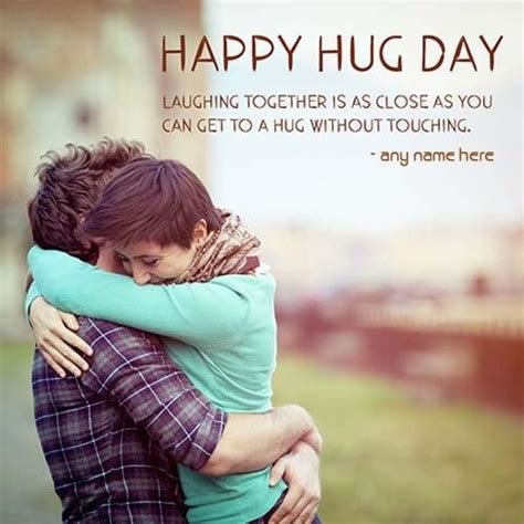 happy hug day quote  pix