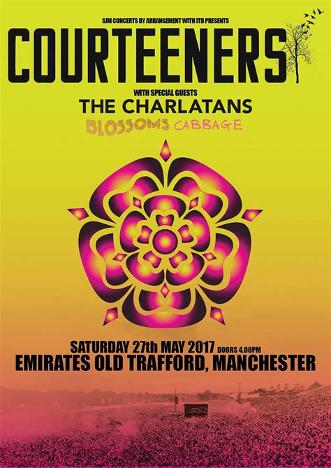 courteeners tickets courteeners emirates old trafford tickets courteeners at