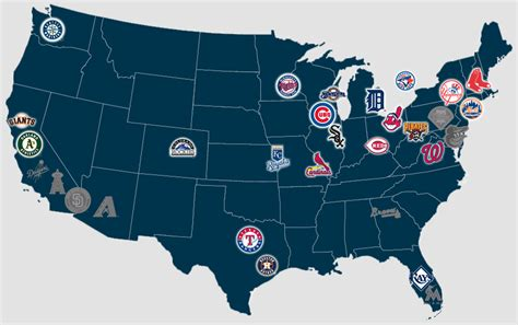 mlb map map of all mlb ballparks pictures to pin on pinsdaddy