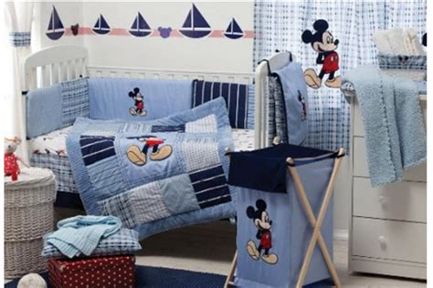 Vintage Mickey Mouse Baby Bedding Crib Set Classic Mickey Mouse Crib Bedding