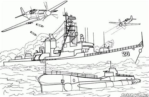 dessin bateau guerre bateau de guerre 6 transport coloriages 224 imprimer