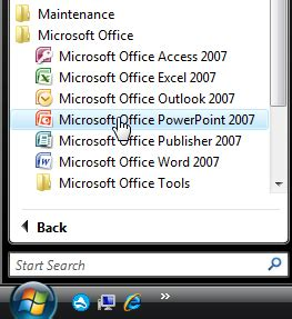 Windows Vista And Office 2007 Launches And We Try And Launch With It by Inserting A New Slide In Powerpoint 2007 For Windows