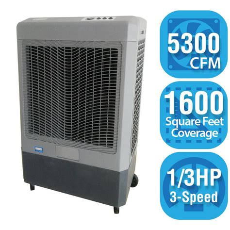 how much to paint a 1600 sq ft house hessaire 5 300 cfm 3 speed portable evaporative cooler for