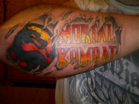 mortal kombat tattoos mortal kombat by bighurt9488 on deviantart