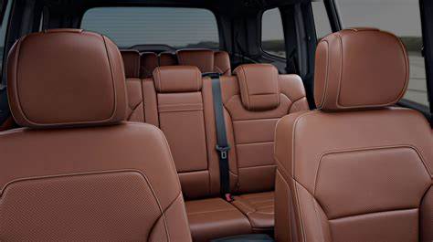 brown leather seats mercedes new mercedes gls suv has launched in india at rs 80