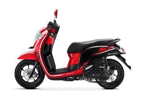 2018 honda scoopy launched in indonesia at idr 17 800 000