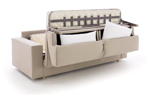 divani letto piccole dimensioni interesting divano letto colin con vano porta guanciali