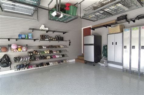 Garage Makeovers by Makeover Gallery Complete Garage Renovation And Flooring