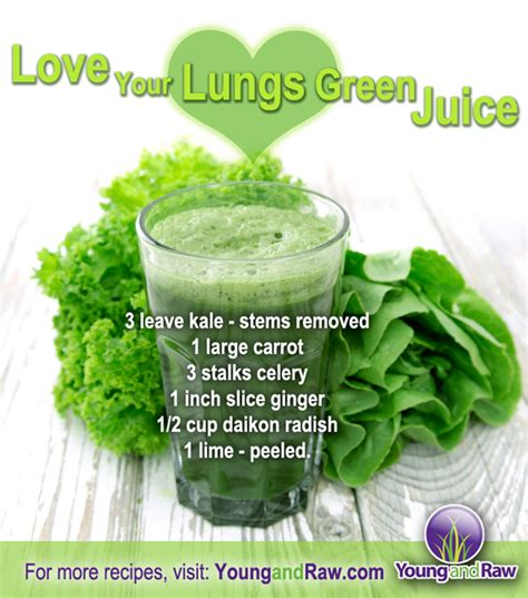 Low Sugar Detox Juice Recipes by Your Lungs Green Juice And