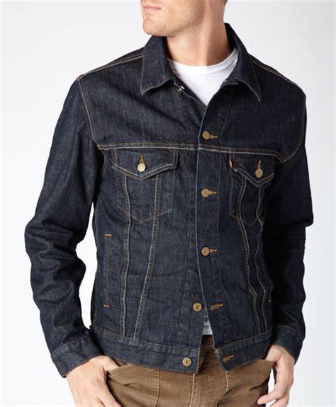 Jacket Levis Pria Hitam jual jaket levis untuk pria biru garment dongker