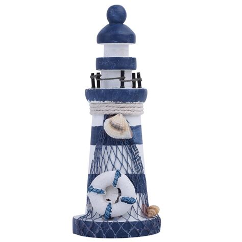 popular wooden lighthouse decor buy cheap wooden