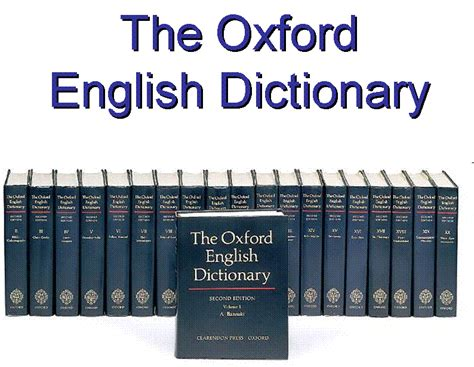 oxford english dictionary the notion of hard words