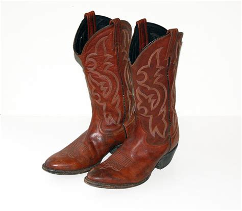 s tony lama cowboy boots size 8 5 by peterbest on etsy
