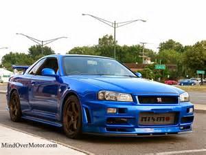 Nissan R34 Skyline Gtr Fast Cars Here The R34 Gt R Skyline