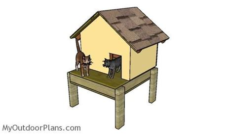 insulated cat house plans the 25 best cat house plans ideas on pinterest cat