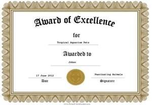 award of excellence my tropical aquarium critterz