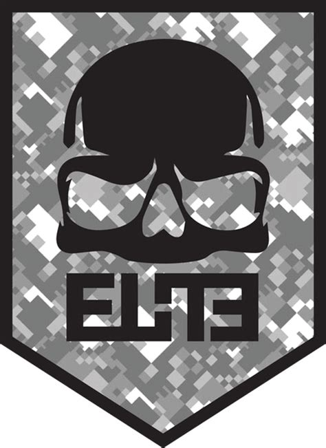 Camo Jeep Emblems All Things Jeep Quot Elite Quot Skull Sticker On Gray Digital Camo