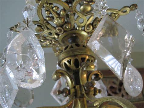 Rock Quartz 048 quartz rock chandelier for sale at 1stdibs