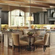 Ideas For Kitchen Islands With Seating Kitchen Island Design Ideas Masterbrand Cabinets